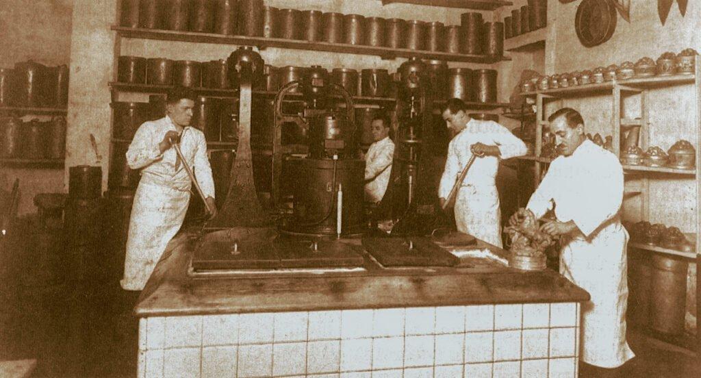Immagine storica gelateria Pepino
