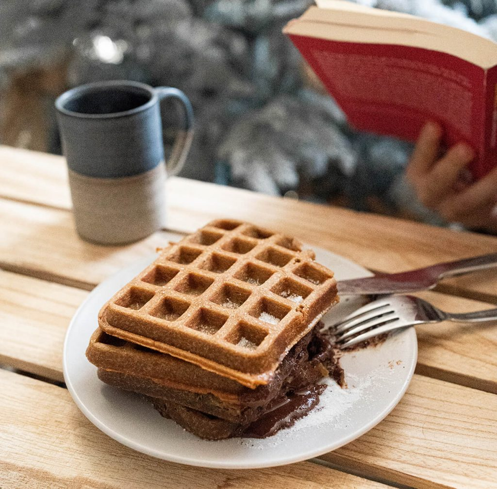 waffle al caffè